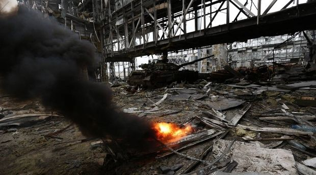 Українські військові утримують Донецький аеропорт  / facebook.com/sergei.loiko