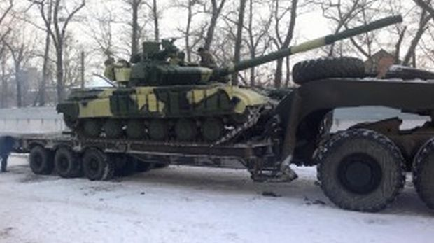 Харківський бронетанковий здав партію Т-64 для АТО / mediarnbo.org