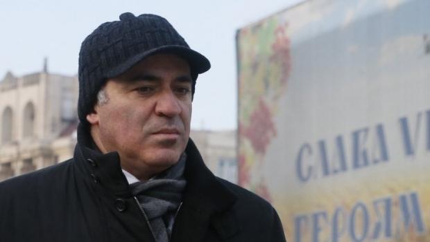 Каспаров побеседовал с журналистами в Киеве