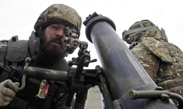 В районе Углегорска идет контрбатарейная борьба / УНИАН