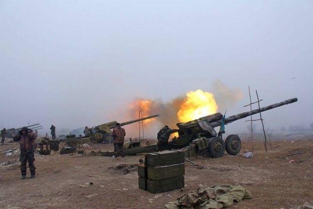 Приказ о массированном огне отдан из-за нарушения перемирия боевиками / Министерство обороны Украины