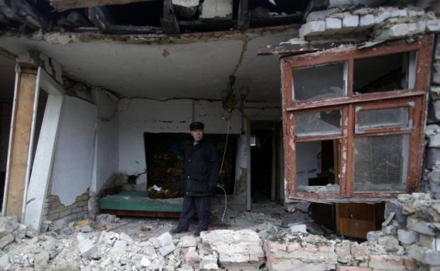 Боевики продолжают вести обстрел Луганщины / Фото УНИАН