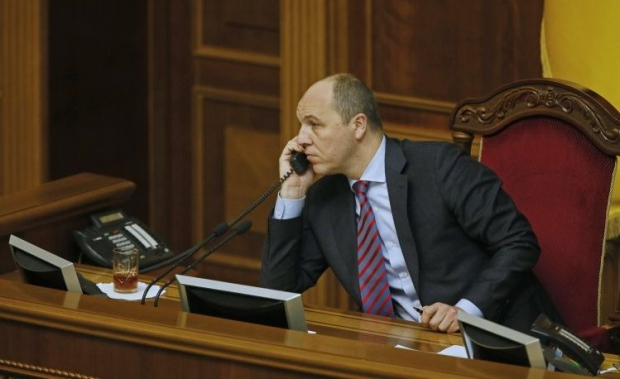 Председатель Верховной Рады Украины А.В. Парубий. Фото: УНИАН