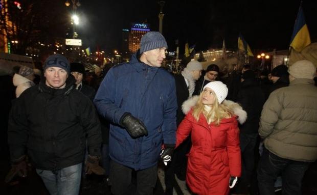 Володимир Кличко і Хайден Панеттьєрі скасували заручини / фото УНІАН