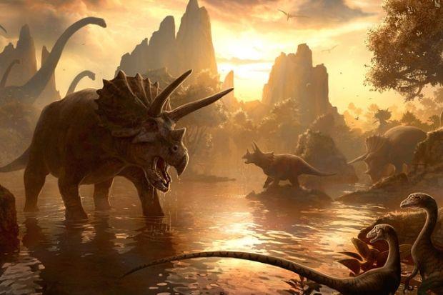65 миллионов лет назадв результате вымирания исчезли динозавры/ Рlanete-zemlya