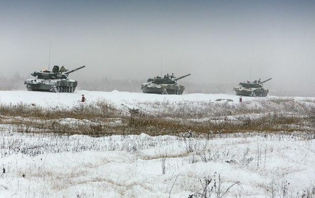 Танковая дивизия РФ на учениях / минобороны.рф
