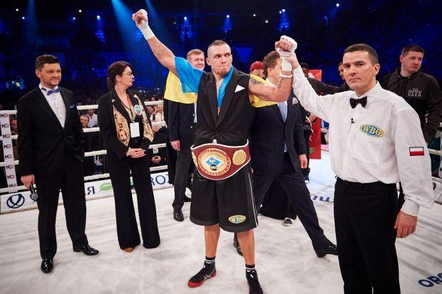 После очередной победы Усик поднялся в рейтинге WBO / К2
