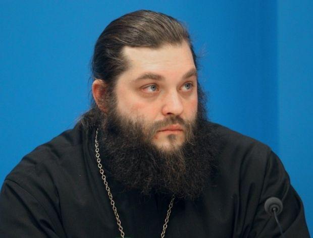 Иеромонах Мелхиседек. Фото УНИАН.