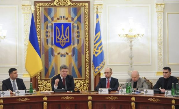 СНБО рассмотрит прекращение коммуникаций с оккупированными территориями