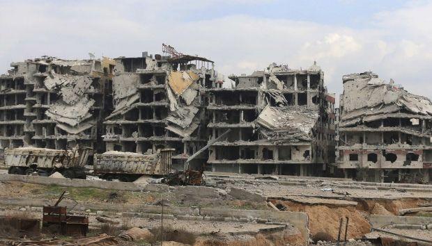 Последствия боевых действий в Сирии, иллюстрация REUTERS