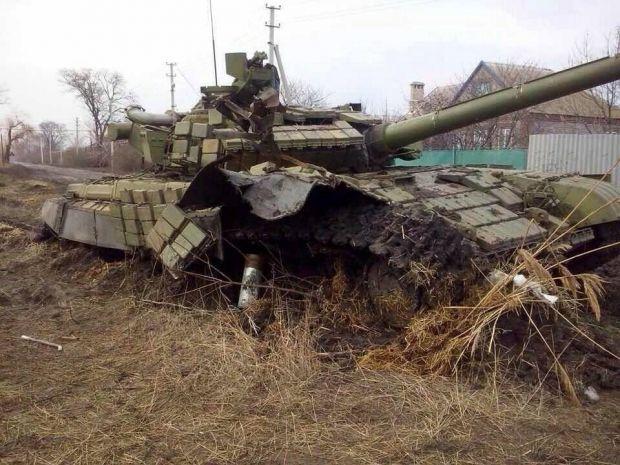 Атака на Углегорск отражена