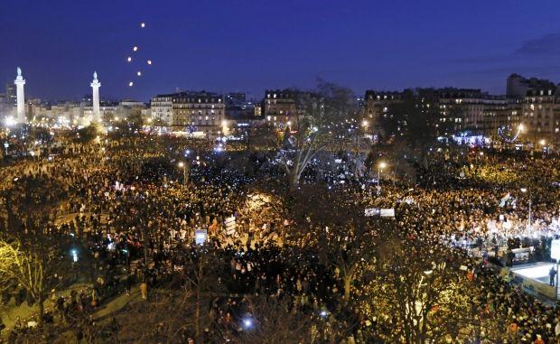 Марш единства, франция / REUTERS