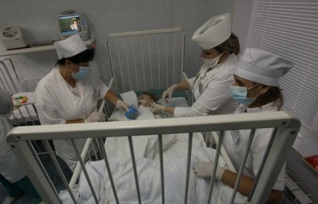 Трое детей получили до 70% ожогов / Фото: УНИАН