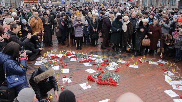Марш в Кировограде собрал от 500 до тысячи человек