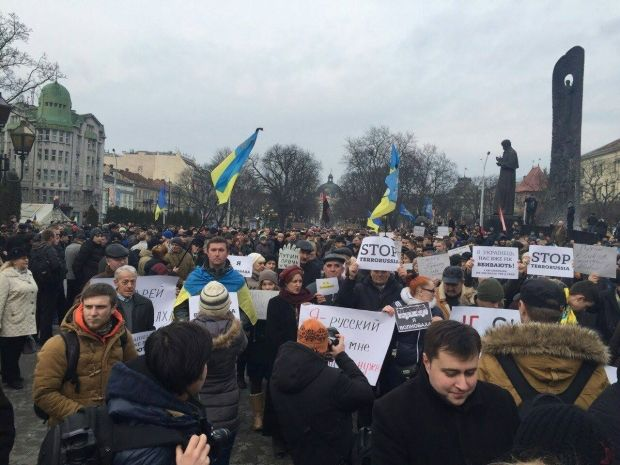 Марш у Львові / zik.ua