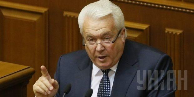 Volodymyr Oleynik at a parliament session. Photo by UNIAN