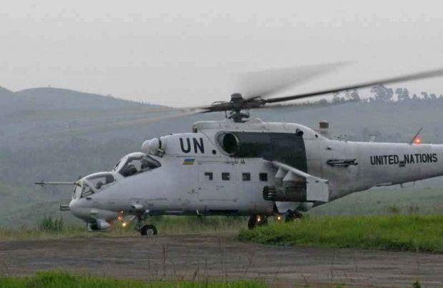 Українські вертолітники здійснювали транспортування та вогневу підтримку / Фото прес-служба Міністерства оборони