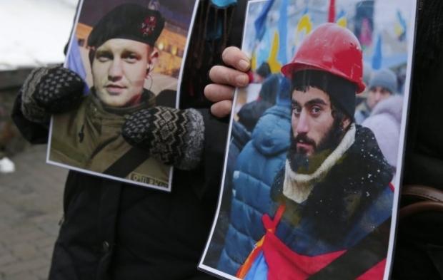 Жизневський іНігоян - одними із перших загинули на Майдані/ фото УНІАН
