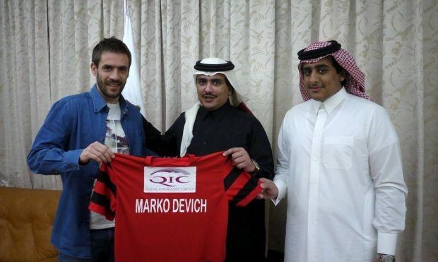 Марко Девич будет играть в катарском чемпионате / facebook.com/alrayyansc
