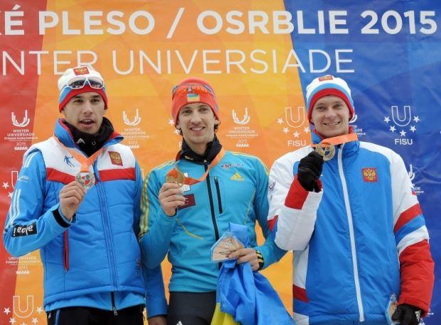 Дмитрий Русинов опередил на финише двух россиян / tatry2015.sk