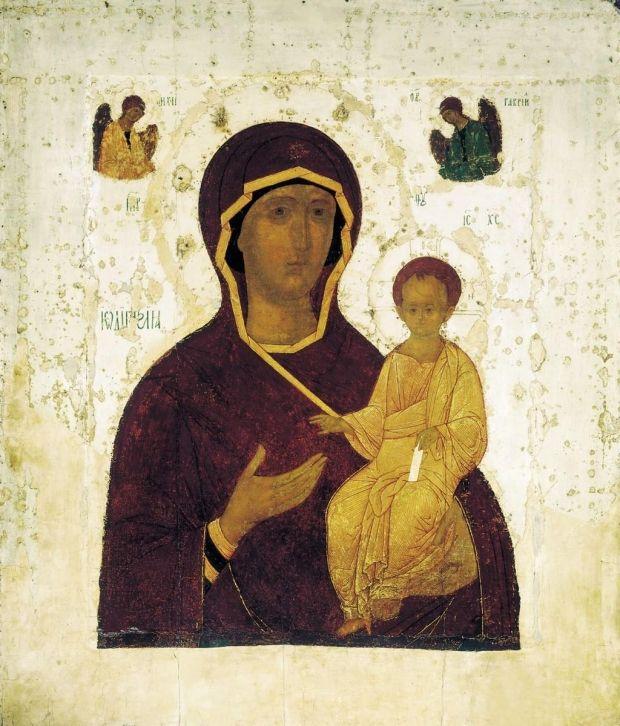 Смоленская икона Божьей Матери «Одигитрия»