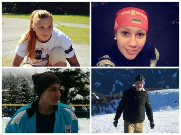 Украинские биатлонисты заняли 4-е место в смешанной эстафете ЕЮОФ / noc-ukr.org