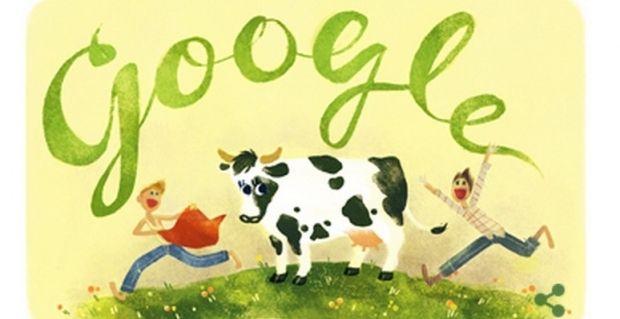 К юбилею Всеволода Нестайко был создан дудл / Google
