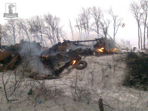 Бои за Дебальцево шли в феврале 2015-го / sprotyv.info