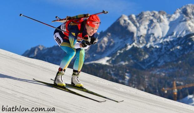 Юлия Джима финишировала на 10-м месте в масс-старте  / biathlon.com.ua