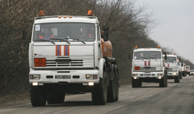 """Russia has been sending so-called """"humanitarian convoys"""" since August 2014 / REUTERS"""