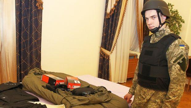 Британия передала помощь украинским солдатам / mil.gov.ua