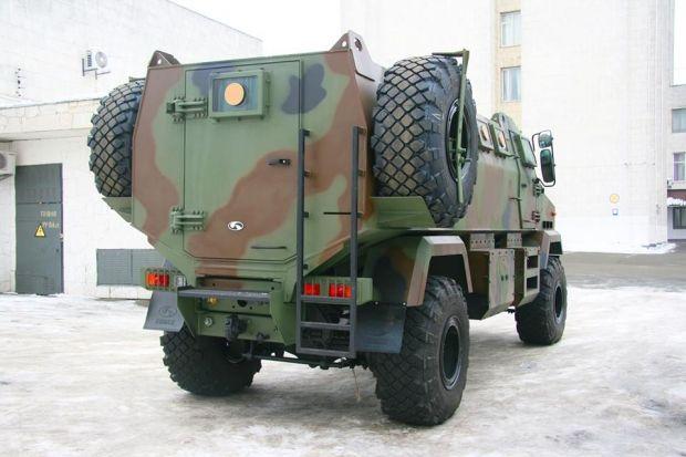 «Украинская бронетехника» специализируется на производстве специализированной бронированной техники / фото facebook.com/arsen.avakov