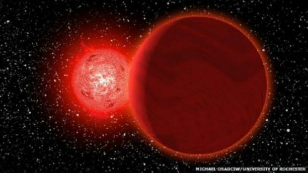 Солнце также сформировалось вместе со звездой-близнецом / фото bbc.co.uk