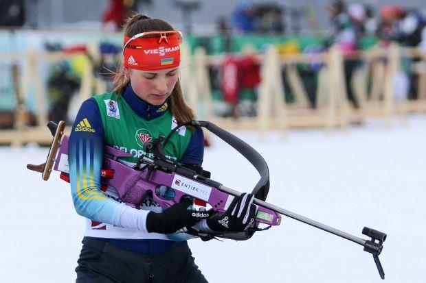 Журавок в завтрашней гонке заменит сильнейшую на данный момент украинскую биатлонистку / biathlon.com.ua