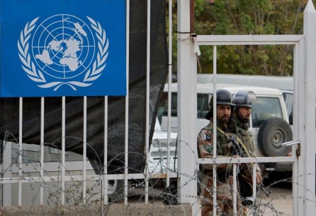 РФ направила в СБ ООН резолюцию о размещении миротворцев на Донбассе / фото УНИАН