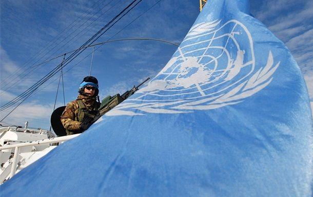 Миротворец ООН, иллюстрация / REUTERS