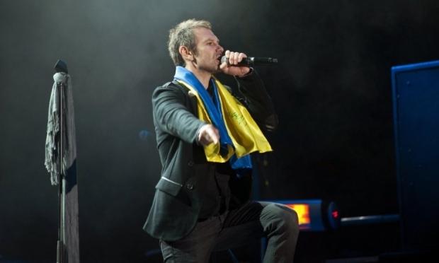 """Вакарчук заспівав про тих, хто """"прокинувся й не спить"""" / Фото УНІАН"""
