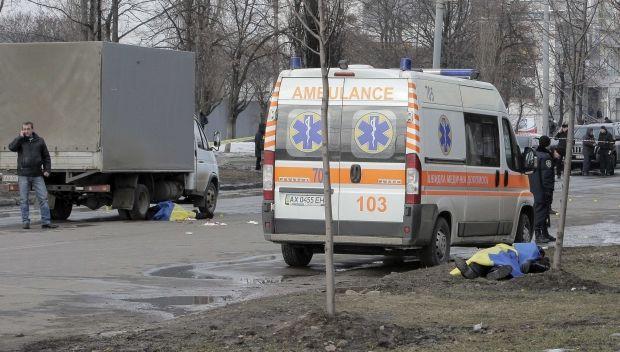 Очевидцы говорят, что трагедии в Харькове можно было избежать/ REUTERS