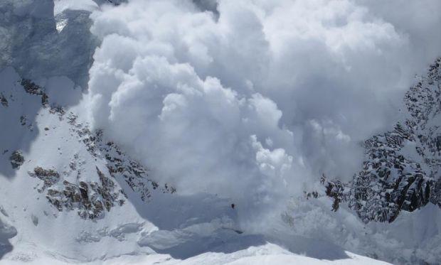 В Китае сошла лавина / alp.org.ua