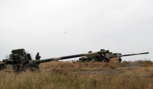 От линии фронта отвели МТ-12 Рапира