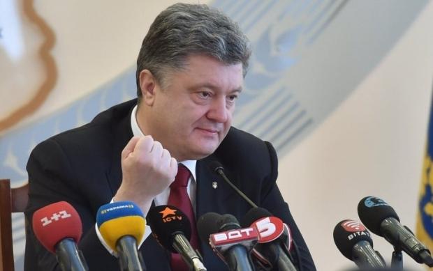 Порошенко призвал украинцев к единению \ Фото УНИАН