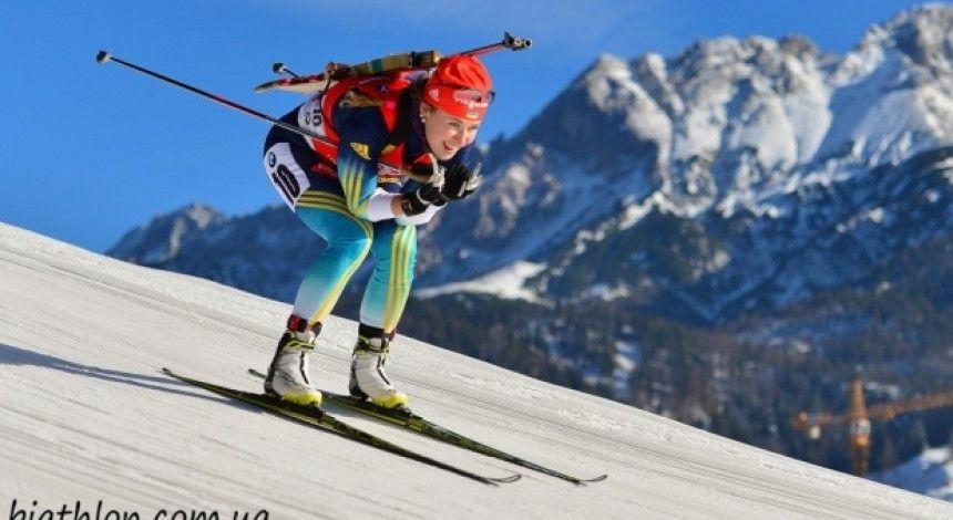 Украинские биатлонисты заняли 6-е место в одиночной смешанной эстафете этапа КМ