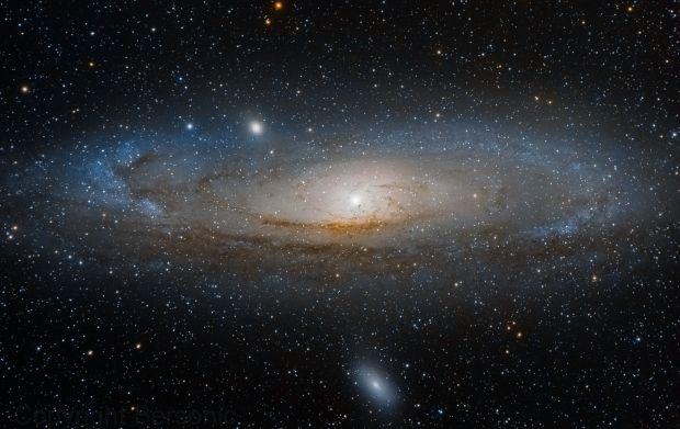 После Большого взрыва во Вселенной существовали только три элемента — водород, гелий и следовые количества лития / фото apod.nasa.gov