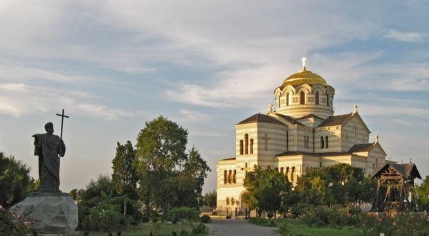 Владимирский собор в Херсонесе Севастопольского благочиния Симферопольской и Крымской епархии УПЦ