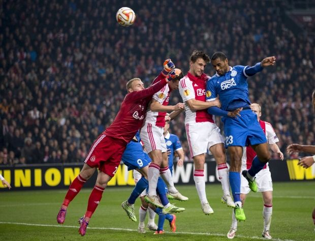 Dnipro scores one goal in Amsterdam / Photo from Reuters