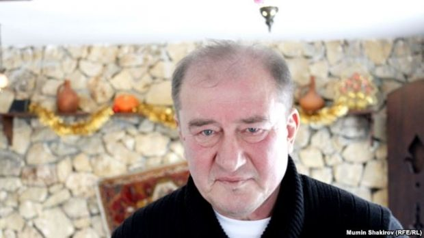 Ilmi Umerov was detained in Bakhchisaray, Crimea, on May 12 / Photo from Radio Svoboda