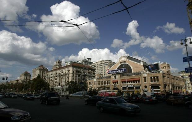 Пешеходную зону Крещатика продлят до Бессарабки / фото УНИАН