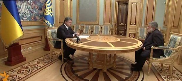 Порошенко подписал отставку Коломойского