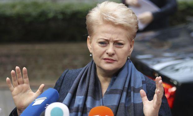 Даля Грібаускайте / REUTERS