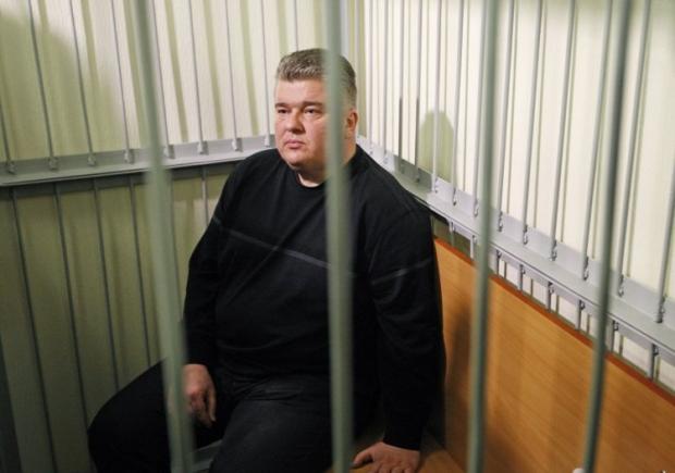 Бочковский в зале суда / фото УНИАН